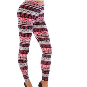 Printed casual soft. Leggings style happy 328